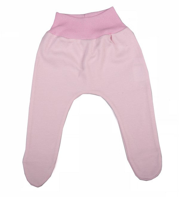 2-Pack High Quality 100% Cotton Leggings With Covered Feet - Little Lumps