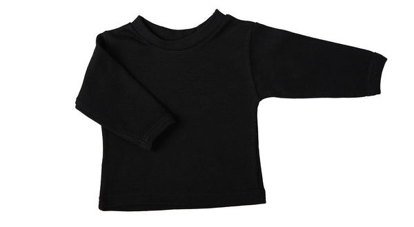Blank Baby Crew-Neck T-Shirts With Long Sleeves Mixed Colours - Little Lumps