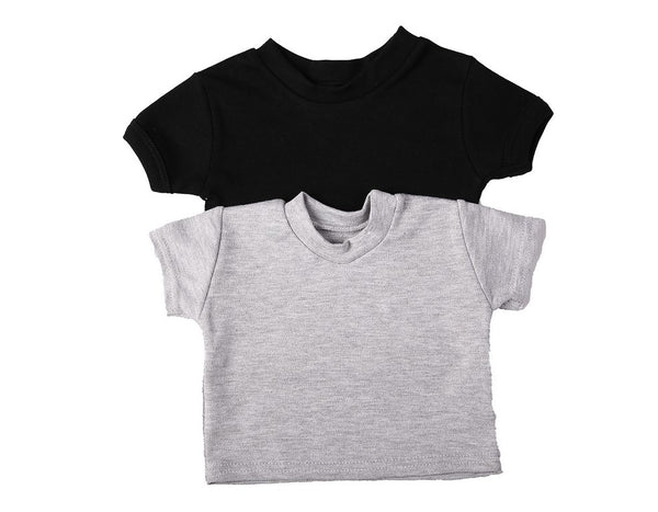 Short-Sleeved Crew-Neck Baby T-Shirts In 100% Cotton Blank Fabric - Little Lumps