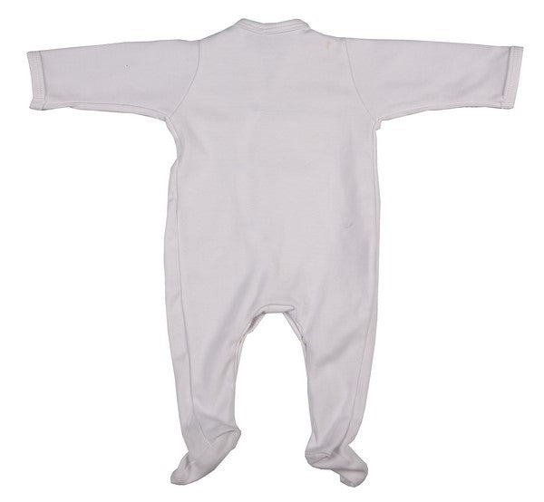 Bulk Pack 100% Cotton Blank Infant Babygros - Little Lumps