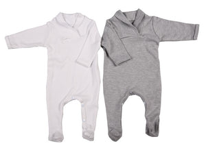 High Quality Babygro With Crossover Collar - Little Lumps Baby Clothing Online