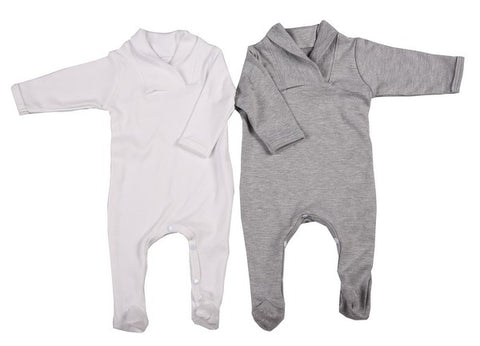 Babygro with Cross-Over Collar
