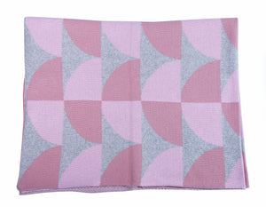 Blanket - Pink Pattern - Little Lumps