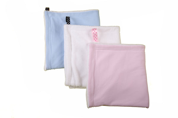 Coral Fleece Double Sided Blanket - Little Lumps Baby Clothing Online