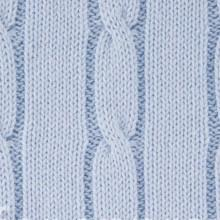 Blanket - Cable knit baby blanket - Little Lumps
