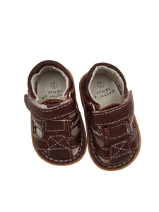 Brown Baby Leather Sandal - Little Lumps