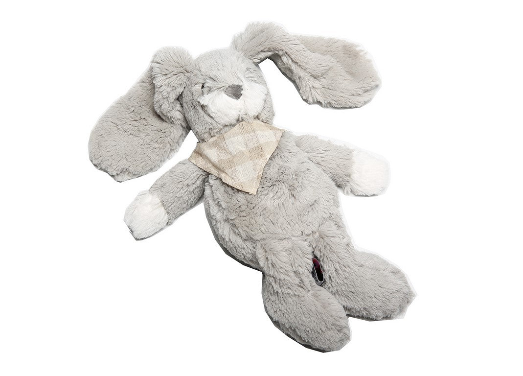 Toy- Bunny (grey) - Little Lumps Baby Clothing Online