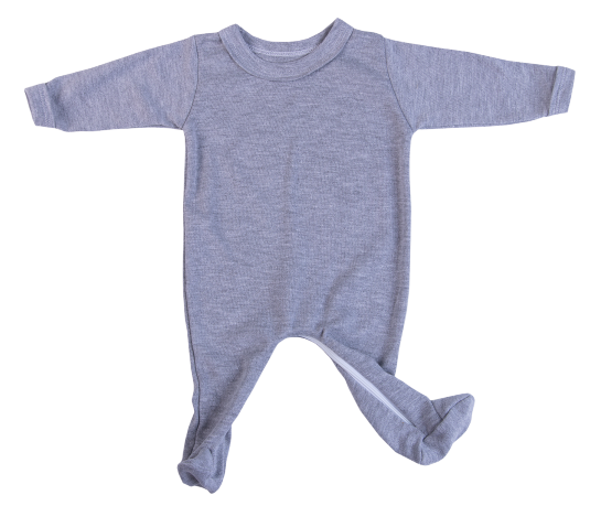 100% Cotton Buttonless Babygro - Little Lumps