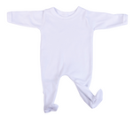 Load image into Gallery viewer, 2-Pack Buttonless Blank Babygros Made From 100% Cotton - Little Lumps