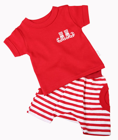 Christmas Baby Slouch Short Set - Little Lumps Baby Clothing Online