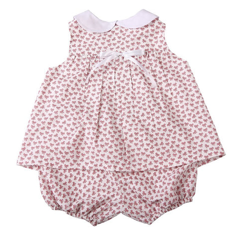 Baby Collared Dress + Panties - Little Lumps
