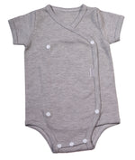 Load image into Gallery viewer, Cross-over Baby Onesie short sleeve - Little Lumps