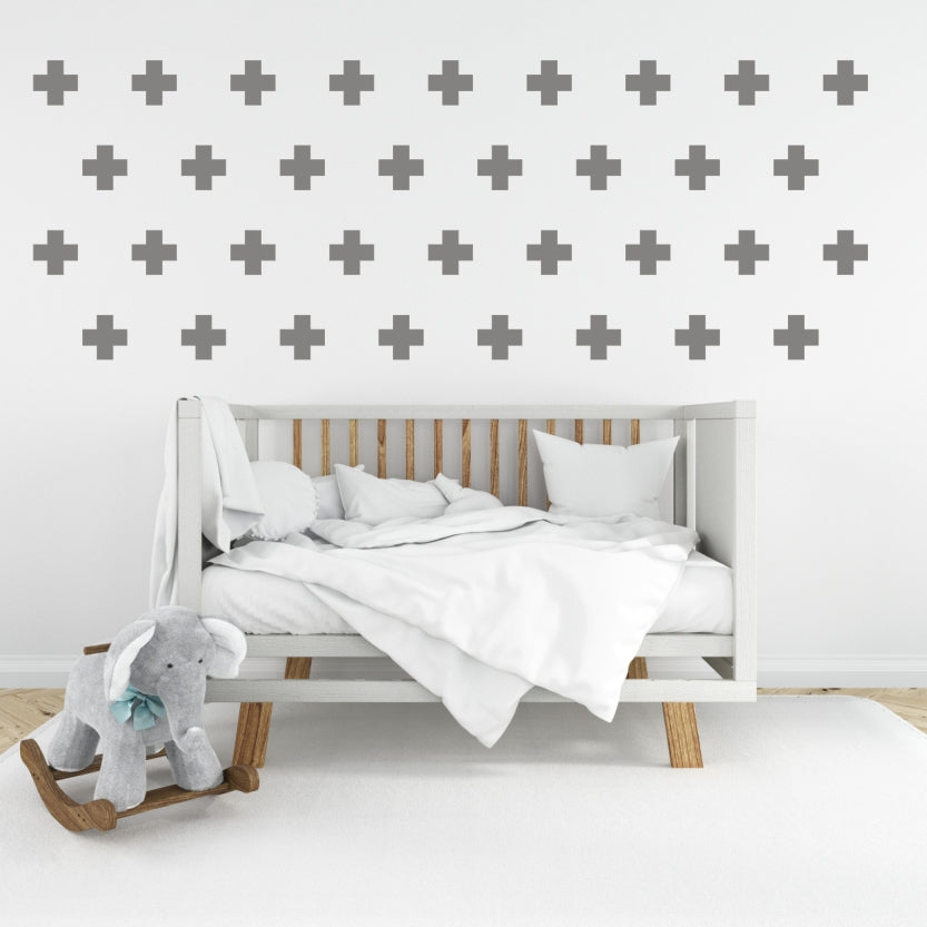 Vinyl Wall Stickers - Crosses