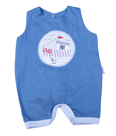 Baby Denim Dungarees - Little Lumps