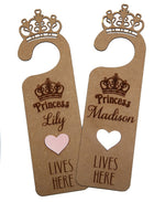 Load image into Gallery viewer, Personalised Princess door hanger - Little Lumps
