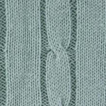 Load image into Gallery viewer, Blanket - Cable knit baby blanket - Little Lumps