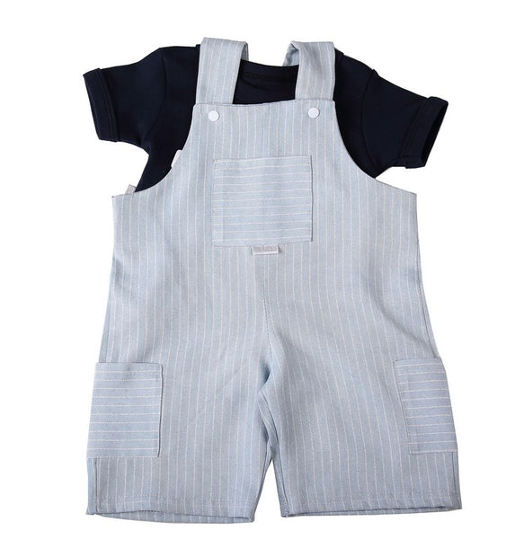 Baby Dungarees & T-Shirt - Little Lumps