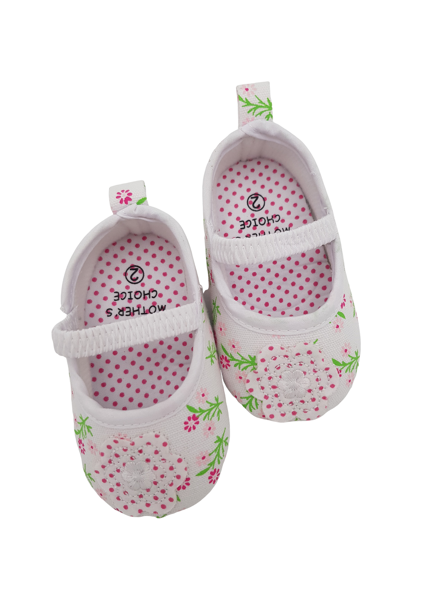 Baby  Floral Shoes - Little Lumps