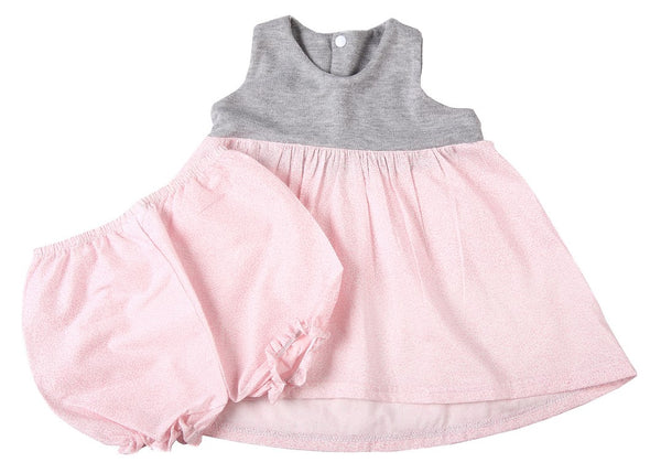 Cropped Baby Dress & Panties - Little Lumps