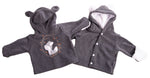 Load image into Gallery viewer, Grey Baby Fox Polar Jacket - Little Lumps