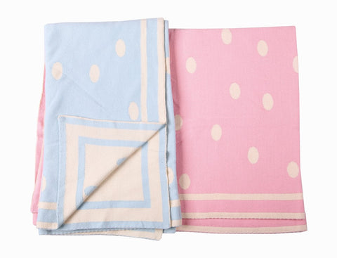 Blanket - spotty - Little Lumps Baby Clothing Online