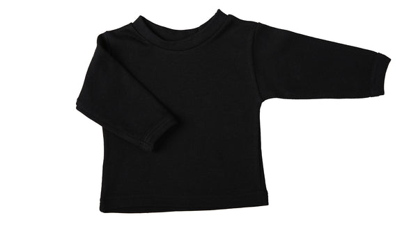 Long-Sleeved Baby Crew Neck T-Shirts - Little Lumps