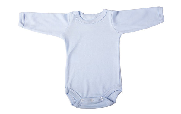 Blank Crew Neck Infant Onesies, long sleeve (6-Pack) - Little Lumps Baby Clothing Online