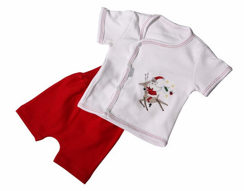 Christmas Baby Short Set - Little Lumps Baby Clothing Online