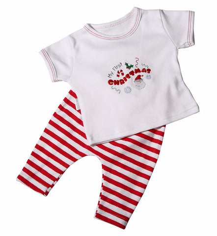 My 1st Christmas Baby Skipants & T-shirt Set - Little Lumps