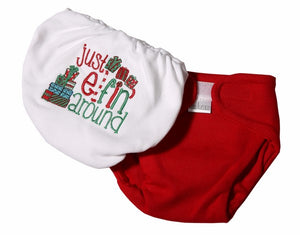 Christmas Baby Diaper Cover - Little Lumps Baby Clothing Online