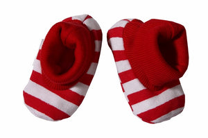 Stripey Shoes - Little Lumps Baby Clothing Online