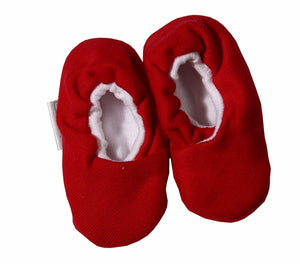 Christmas Baby Kimono Shoes - Little Lumps Baby Clothing Online