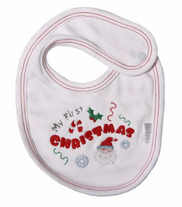 My 1st Christmas Bib - Little Lumps Baby Clothing Online