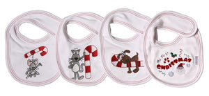 Christmas Bib - Little Lumps Baby Clothing Online