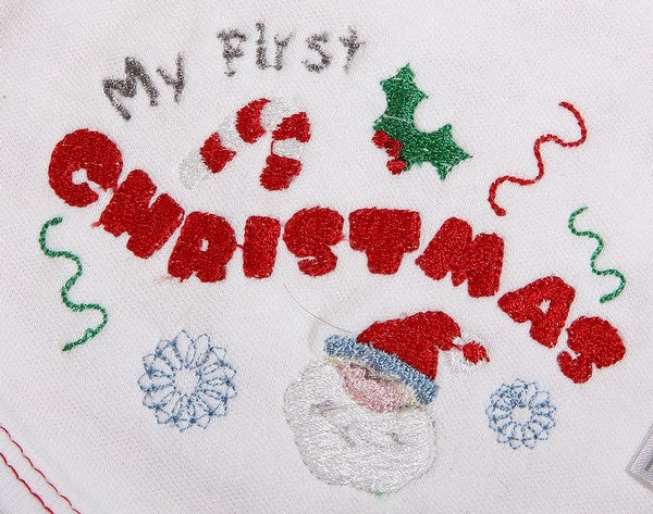 My 1st Christmas Baby Skipants & T-shirt Set - Little Lumps Baby Clothing Online