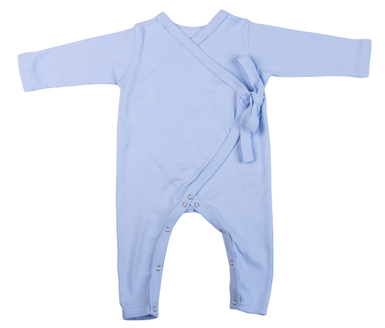 2-Pack Kimono Blank Babygros Made From 100% Cotton - Little Lumps