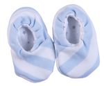Load image into Gallery viewer, Baby Striped Kimono Shoes - Little Lumps