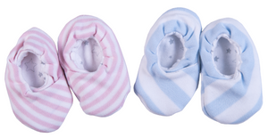 Baby Striped Kimono Shoes - Little Lumps