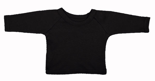 Blank Baby T-Shirts With Raglan Sleeves (6-Pack) - Little Lumps Baby Clothing Online