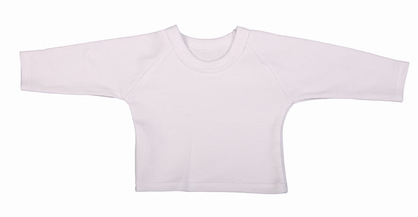 Blank Baby T-Shirts With Raglan Sleeves (6-Pack) - Little Lumps