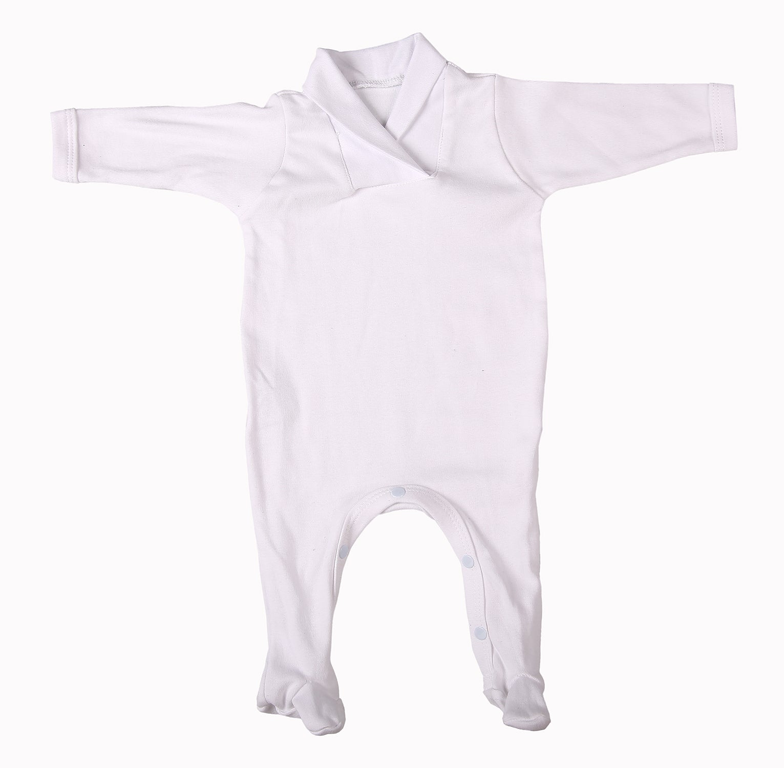 Baby Blanks - Babygro Crossover Collar (2 Pack or 6 pack)