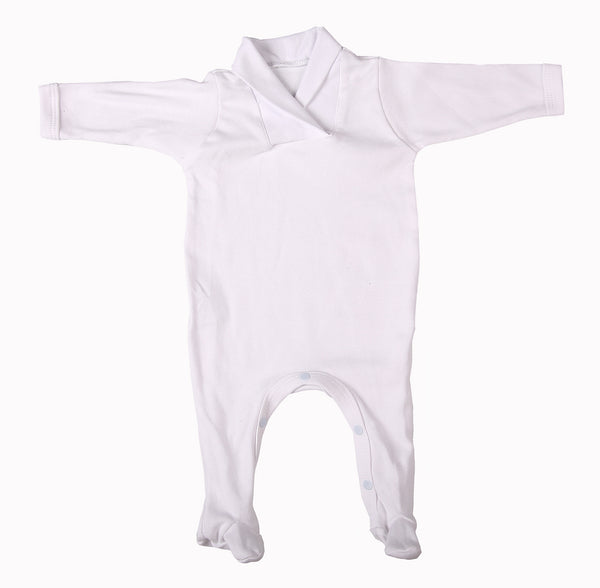 Blank Babygro Sets With Crossover Collar (2-Pack mixed colours) - Little Lumps Baby Clothing Online