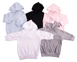 Baby Blanks - Long Sleeved Hoodies (6-Pack) - Little Lumps