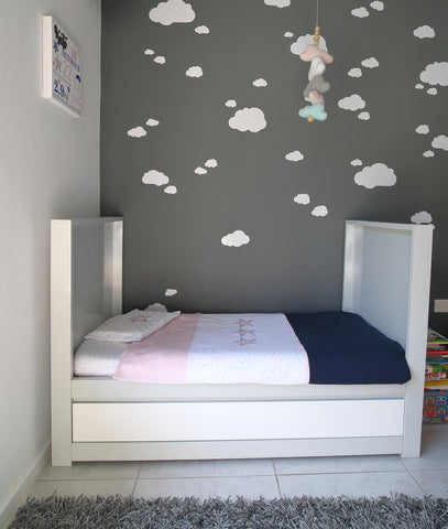 Vinyl Wall Stickers - Clouds - Little Lumps