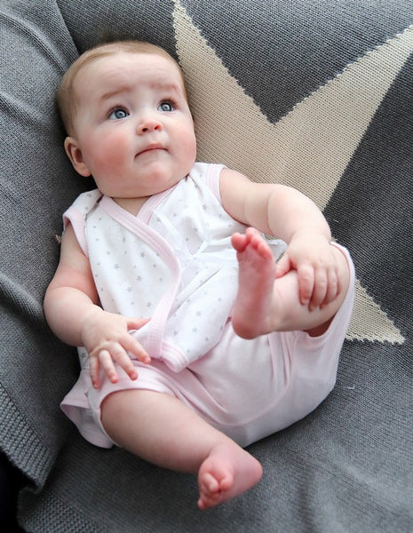 Crossover baby Dress & Shorts - Little Lumps