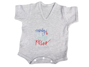 V-Neck Onesie - Little Lumps Baby Clothing Online