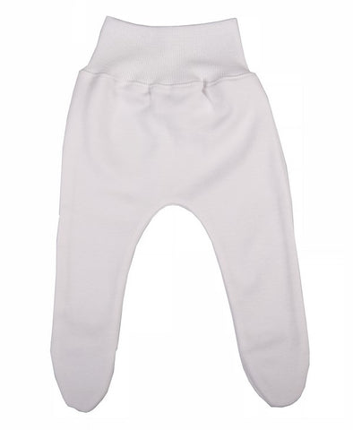 Soft White Cotton Baby Leggings - Little Lumps Baby Clothing Online