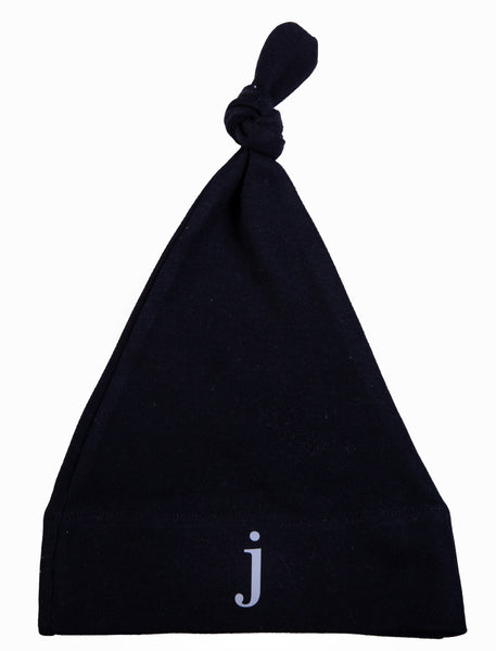 Personalised Initial Knotty Baby Hat - Little Lumps