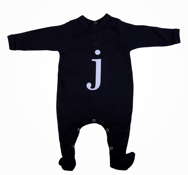 Personalised Initial Babygro - Little Lumps