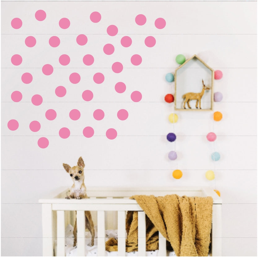 Vinyl Wall Stickers - Polka Dots